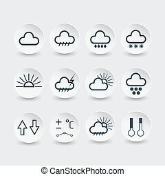 weather forecast icons