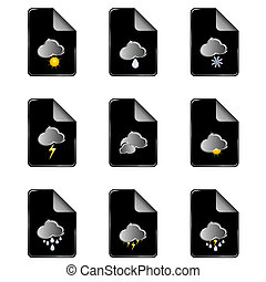 weather icon color vector illustration