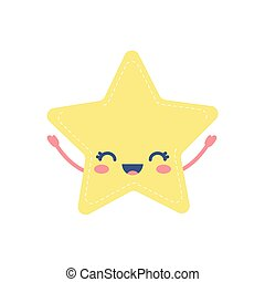 weather icon of an star smiling