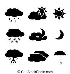 Weather icon set