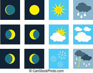 weather., iconos