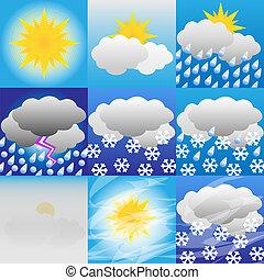 Weather-Meteorology-Icon-Sun-Rain-Snow-Illustration