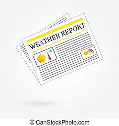 Weather Report Newspaper