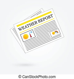 Weather Report Newspaper