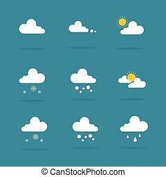 Weather set icon vector illustration