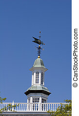 Weather Vane on Cupola