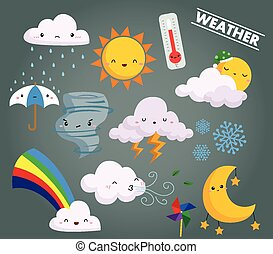 Weather Vector Set