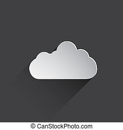 weather web flat icon.