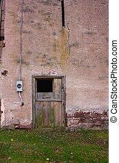 Weathered Barn Door