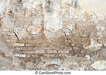 weathered brick wall background