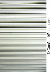 Weathered galvanized and corrugated sheet steel texture...