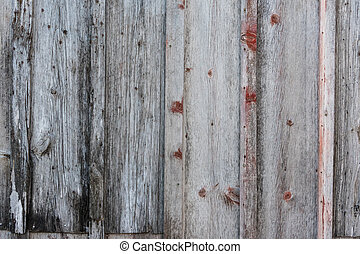 Weathered Gray Wood Wall Texture