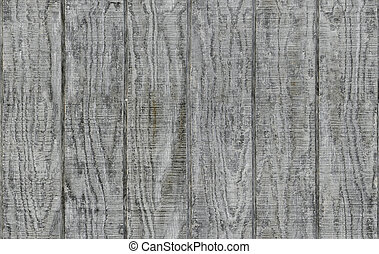 Weathered gray wooden barn siding using vertical planks