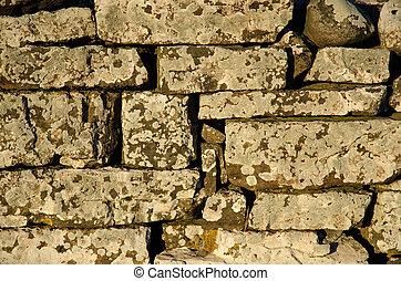 Weathered stone wall background