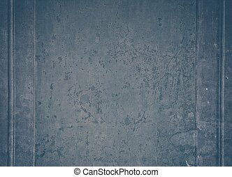 Weathered wall with plaster mouldings