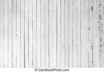 Weathered white wood - A background of closeup weathered...
