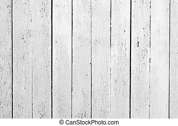 Weathered white wood - the background of weathered white...