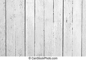 Weathered white wood - the background of weathered white...