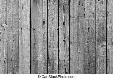 weathered wood panel - Weathered, greying wood panel in ...