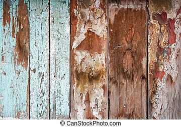 Weathered Wood wall wallpaper