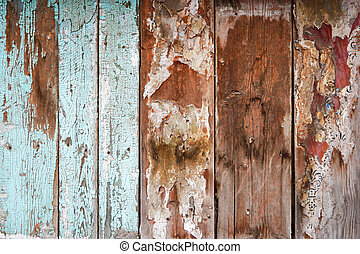 Weathered Wood wall wallpaper