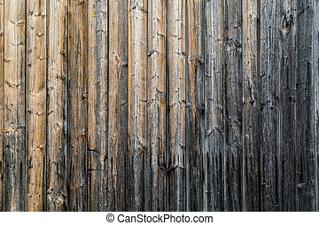 Weathered wooden wall as background
