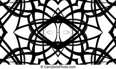 weave lines cable,black curve fancy