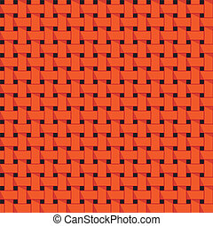 Weaving, basket. Seamless abstract pattern.
