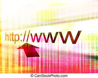 web, адрес