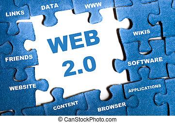 web, головоломка, 2.0
