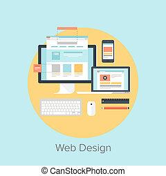 web, дизайн, and, разработка