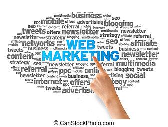 web, маркетинг