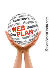 web, план