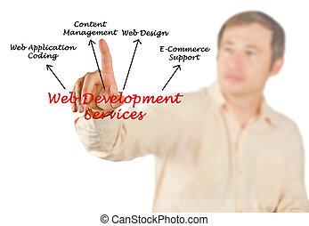 web, разработка, services