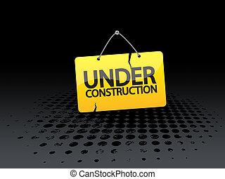 web, строительство, баннер, под