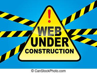 web, строительство, под