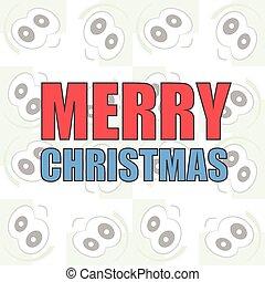 web ページ, 概念, テンプレート, ビジネス, banner., モビール, 背景, イラスト, 創造的, infographic, year., ベクトル, クリスマス, 陽気, アプリケーション, 新しい, 幸せ, デザイン, カード, design.
