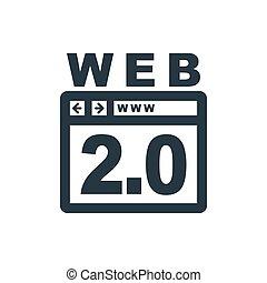 web, 2, ikone, 0