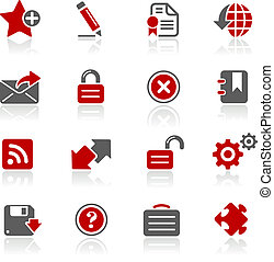 Web 2.0 / Redico - Vector icons for your website or ...
