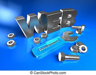 web, 3d
