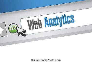 web, abbildung, zeichen, analytics, internet browser