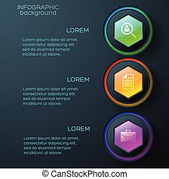 Web Abstract Infographics
