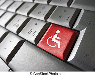 Web Accessibility Icon Symbol - Web content accessibility...