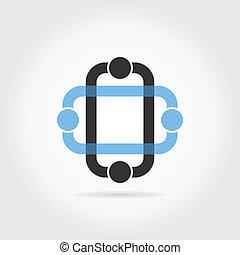 Web an icon