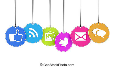 Web And Social Media Concept - Website and Internet concept...