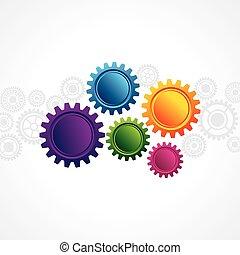 web, astratto, copia, disegno, spazio