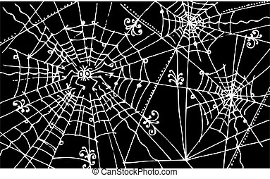 Web background decorative vector illustration