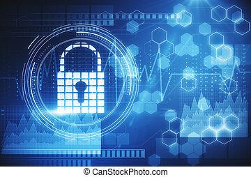 web, begriff, sicherheit, privatleben