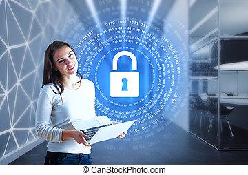 web, begriff, sicherheit