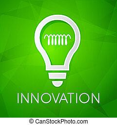 web, begriff, wohnung, licht, aus, innovation, -, zeichen,...